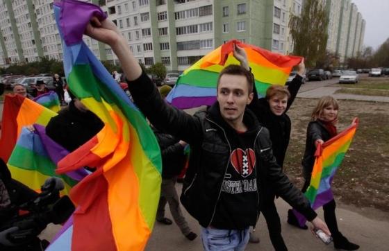 """""""Гей-парад""""-2011 фота bymedia.net"""