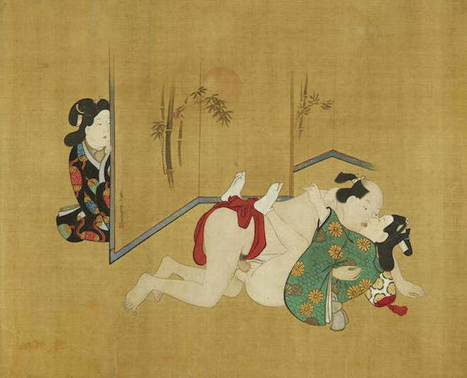 Юпонское гей порно