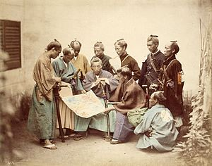 300px-Satsuma-samurai-during-boshin-war-period