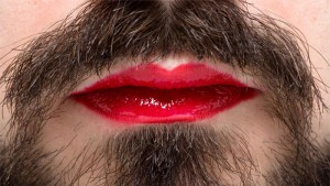 man lips makeup