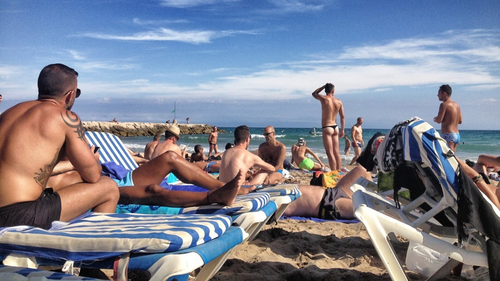gay beach tourism sea 10