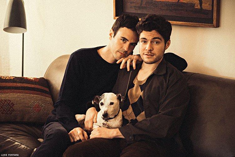 gay couple lovestory family