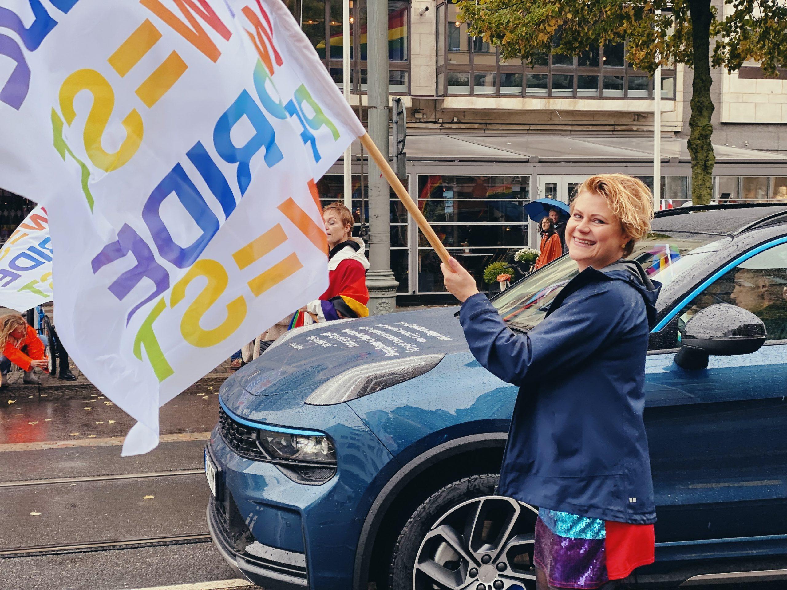 Гей парад в Швеции! Эксклюзивный фоторепортаж GPress